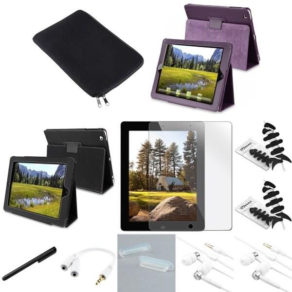 BasAcc Case/ Splitter/ Wrap/ Headset/ Sleeve for Apple iPad 2
