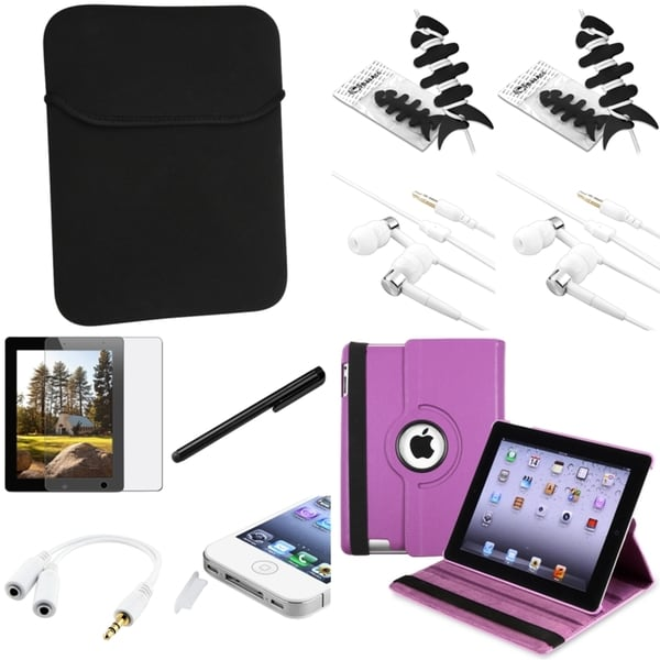 BasAcc Case/ Protector/ Stylus/ Headset/ Wrap for Apple iPad 3