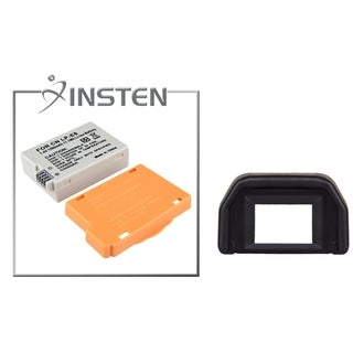 INSTEN Battery/ Eyepiece for Canon LP-E8 EOS Rebel T2i/ 550D