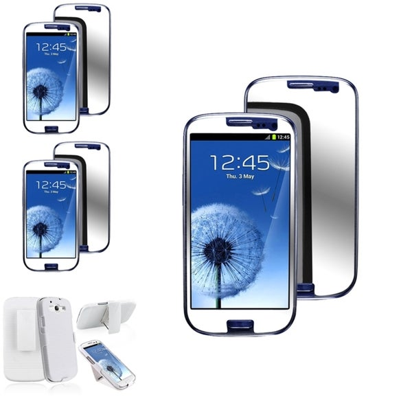 BasAcc Case/ Mirror Screen Protector for Samsung© Galaxy S3