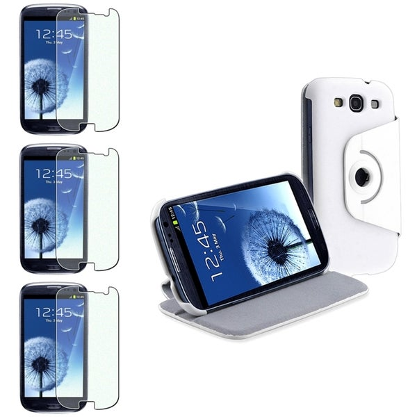 BasAcc Case/ Colorful Diamond Screen Protector for Samsung© Galaxy S3