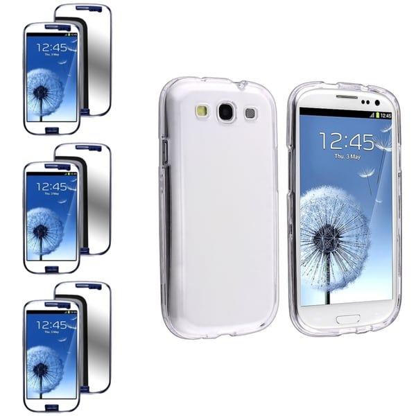 INSTEN Crystal Phone Case Cover/ Screen Protector for Samsung Galaxy S3
