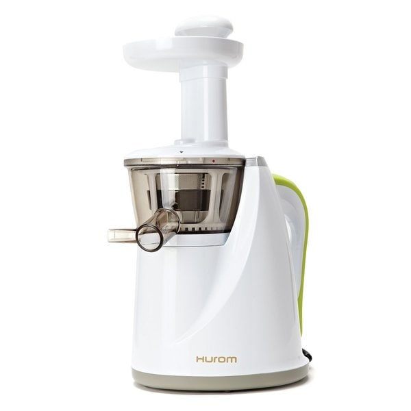 Hurom HU-100W Snow White Masticating Slow Juicer - Free Shipping Today - Overstock.com - 14847380