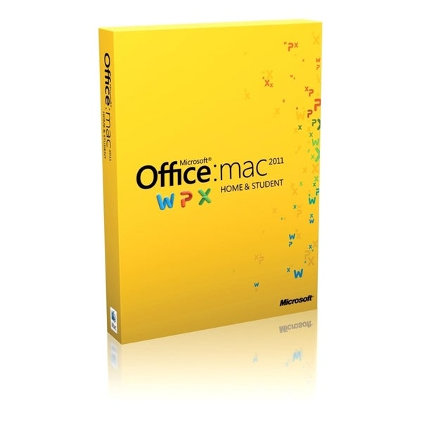 Microsoft Office: mac 2011 Home and Student - Complete Product - 1 In
