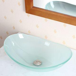 CAE Elite Tempered Glass Vessel Sink
