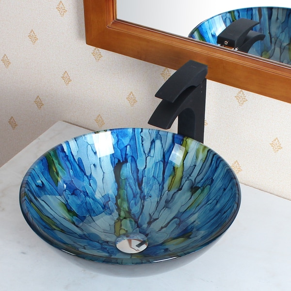 Elite Tempered Glass Vessel Sink