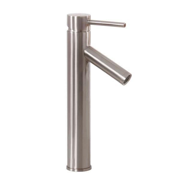 Elite Brushed Chrome Bathroom Vessel Faucet