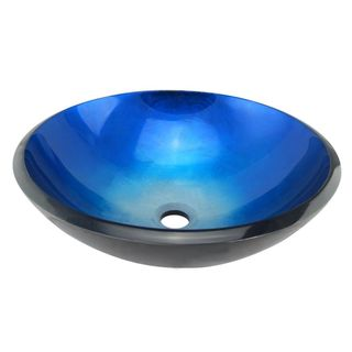 CAE Tempered Glass Vessel Sink