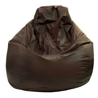 Gold Medal Large Vinyl Teardrop Bean Bag