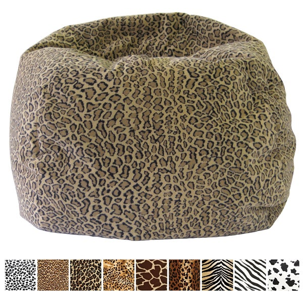 Charmant Gold Medal Child Size Animal Print Bean Bag