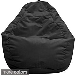 Large Microfiber Suede Teardrop Bean Bag (Option: Red)