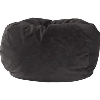 Gold Medal Microfiber Suede Extra Large Bean Bag Chair