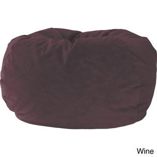 Gold Medal Medium Microfiber Suede Bean Bag