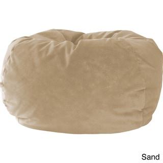 Gold Medal Medium Microfiber Suede Bean Bag