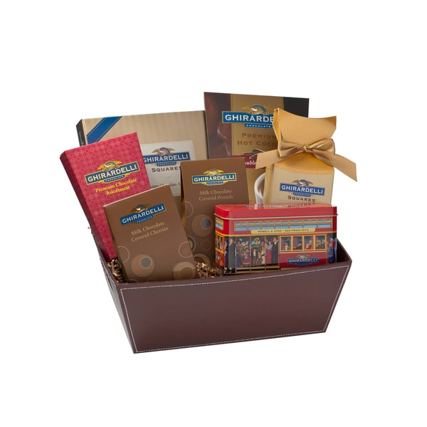 Ghiradelli Chocolate Cable Car Collection Gift Box