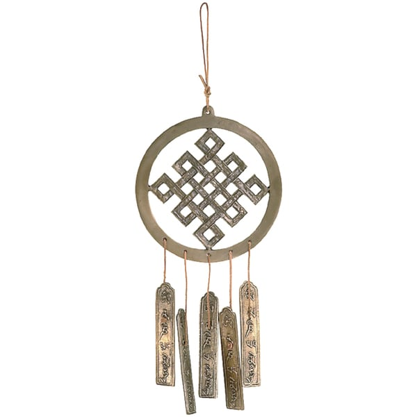 Brass Endless Knot Chime (India)