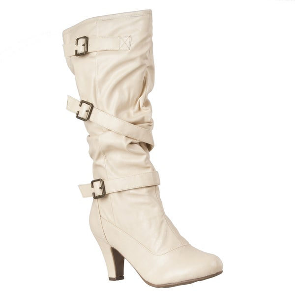 Riverberry Women's 'Verde' High Heel Strappy Boots