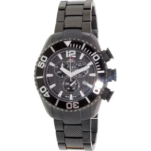 Swiss Precimax Men's Deep Blue Pro II Chronograph Watch (Water-Resistant)