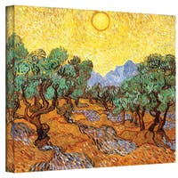 Van Gogh 'Olive Trees' Wrapped Canvas