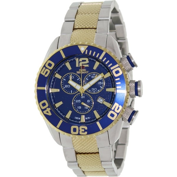 Swiss Precimax Men's Deep Blue Pro II Chronograph Watch
