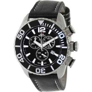 Swiss Precimax Men's Deep Blue Executive Elite II Chronograph Watch