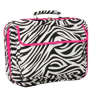 World Traveler Zebra Designer Print 17-inch Laptop Computer Case