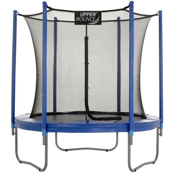 Upper Bounce 7.5 Ft Trampoline and Enclosure Set with New Upper Bounce Easy Assemble Feature