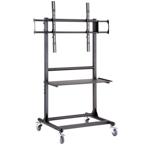 Cotytech Adjustable Ergonomic Mobile TV Cart For 56 to 70 inches