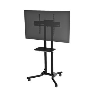 Cotytech Adjustable Ergonomic Mobile TV Cart for 32 to 56 inches