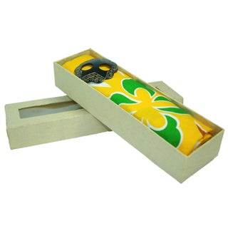 1 World Sarongs Women's Pressed Paper Gift Box (Indonesia)