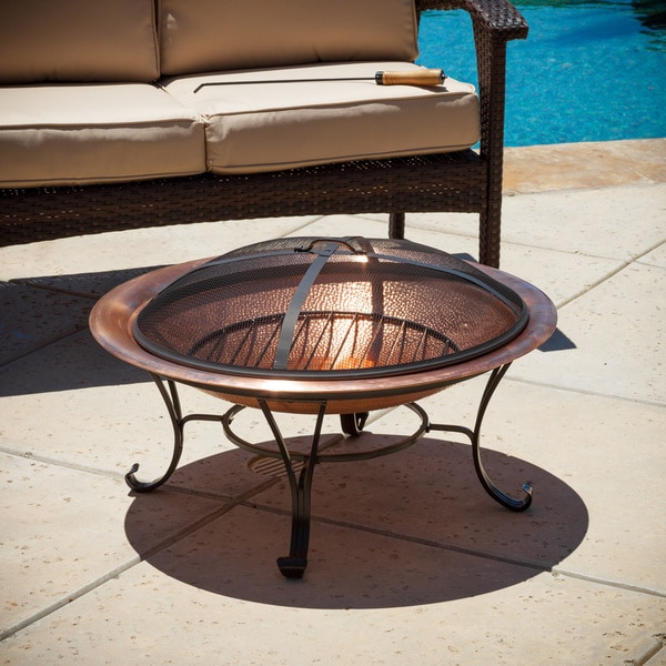... Az Patio Heaters Fire Pit By Marconi Copper Fire Pit Free Shipping  Today Overstock ...