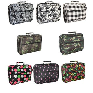 World Traveler Designer Print 17-inch Laptop Computer Case