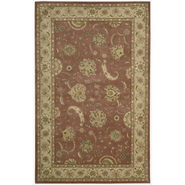 Nourison 2000 Hand-tufted Kashan Rose Wool Rug