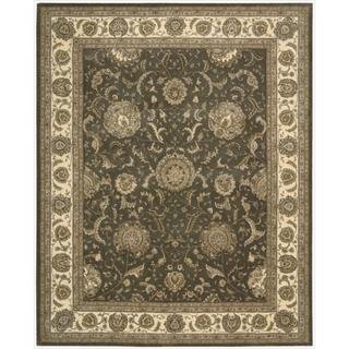 Nourison 2000 Hand Tufted Kashan Slate Rug