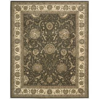 Nourison 2000 Hand Tufted Kashan Slate Rug (More options available)
