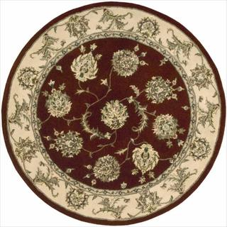 Nourison 2000 Hand-tufted Kashan Lacquer Rug (8' Round)