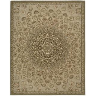 Nourison 2000 Hand-tufted Multi-colored Sunburst Rug