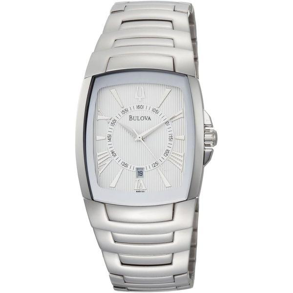 Bulova Men's 'Bracelet' Stainless Steel Quartz Watch