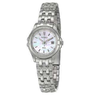 Seiko Women's SXDE09 'Le Grand Sport' Stainless Steel Quartz Watch