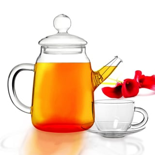 Tea Beyond Glass Teapot DUO Gift Set