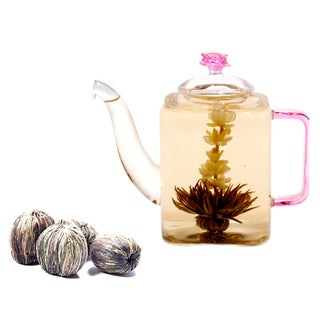 Tea Beyond Premium Blooming Tea Gift Set Romeo Assorted