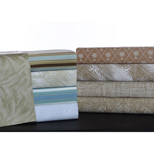 Tommy Bahama Printed Cotton Sheet Sets Free Shipping On