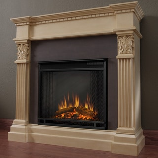 Gabrielle Real Flame Electric Fireplace