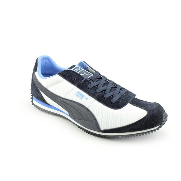 Puma Men's 'Speeder M' Leather Athletic Shoe (Size 14)