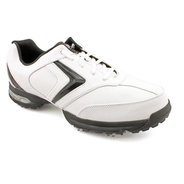 Callaway Golf Men's 'Chev Comfort' Leather Athletic Shoe (Size 10.5) Wide