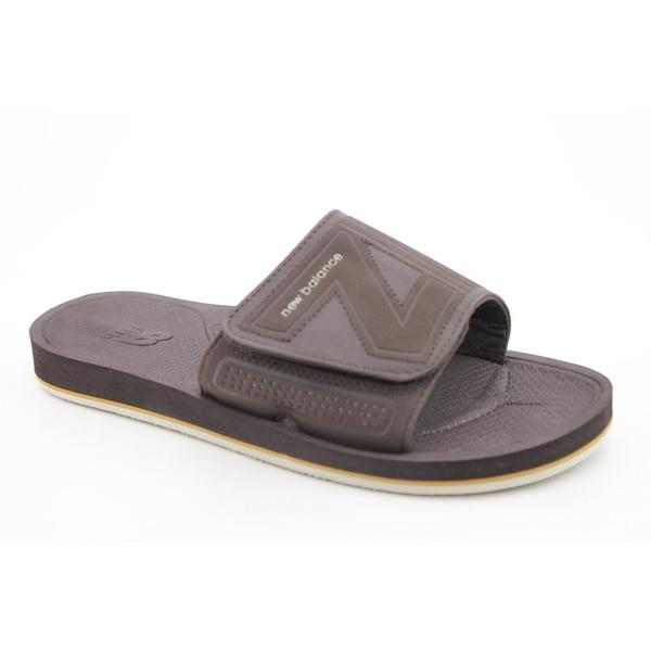 New Balance Men's 'Mosie Slide' Synthetic Sandals (Size 7)