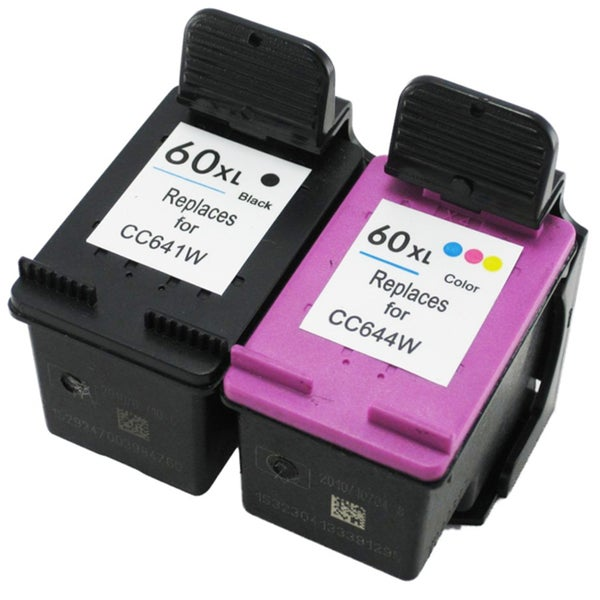HP 60XL Black/Color Ink Cartridges Set (Remanufactured)
