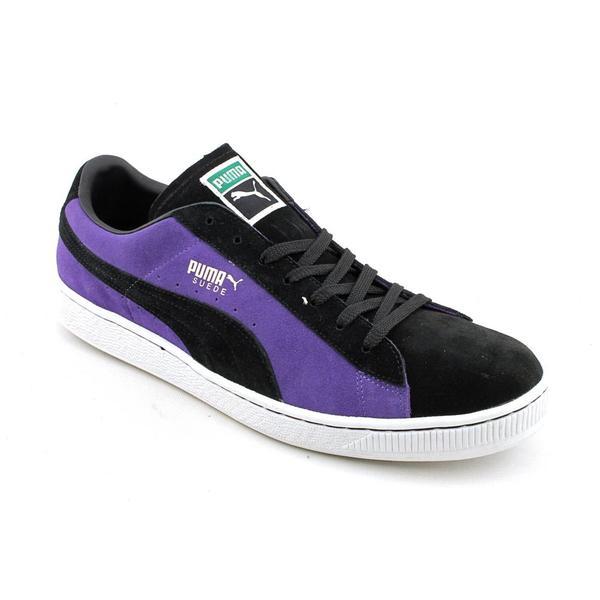 Puma Men's 'Suede Rainbow' Regular Suede Casual Shoes (Size 14)
