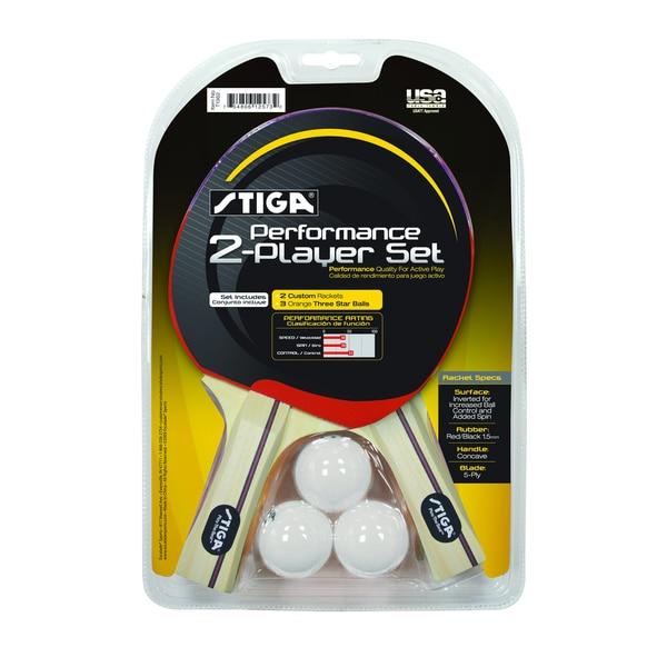 Stiga Performance 2 Player Table Tennis Set