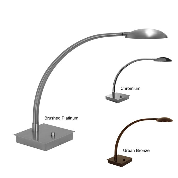 Mondoluz 'La Cirque' 1-light Curved Arm Table Lamp